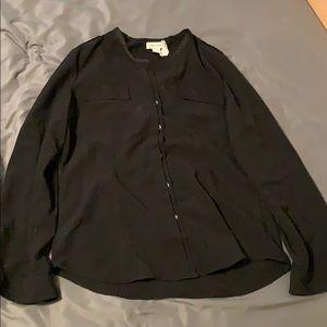 Calvin Klein Women's Blouse Size M Black